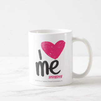 Mim coração mim magenta caneca de café