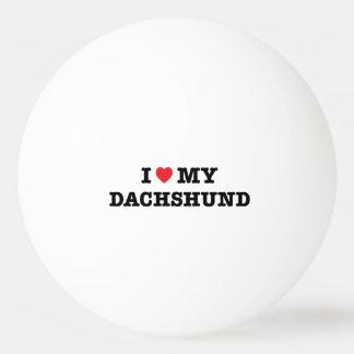 Mim coração minha bola de Pong do sibilo do Bola De Ping-pong