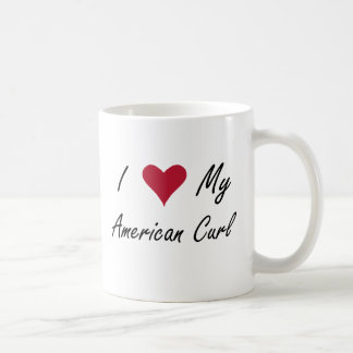 Mim coração minha onda americana caneca