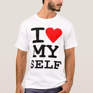 Mim coração MINHA sátira da paródia do auto T-shirt