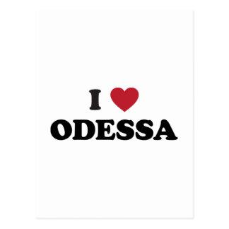 Mim coração Odessa Ucrânia Cartão Postal
