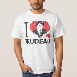 Mim coração Trudeau Camiseta
