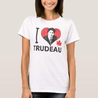 Mim coração Trudeau Camisetas