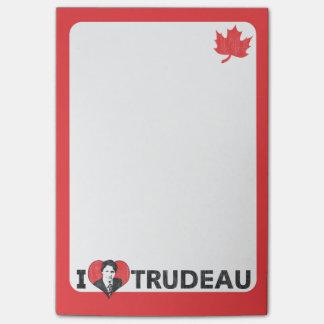 Mim coração Trudeau Post-it Note