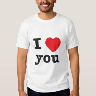 Mim coração você tshirts