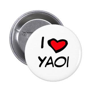 Mim coração Yaoi Bóton Redondo 5.08cm