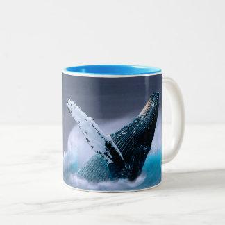 Mim da baleia amor sempre você que rompe a caneca
