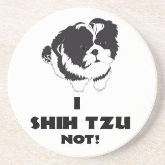 mim design do futz do shah não porta-copos de arenito