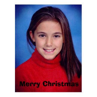 mim, Feliz Natal Cartão Postal