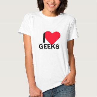 Mim geeks do coração t-shirt