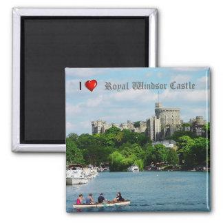 Mim imã de geladeira do castelo de Windsor do Ímã Quadrado