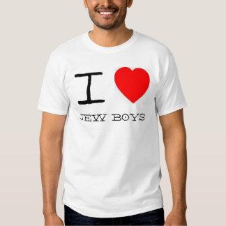 Mim meninos do judeu do *heart* tshirts