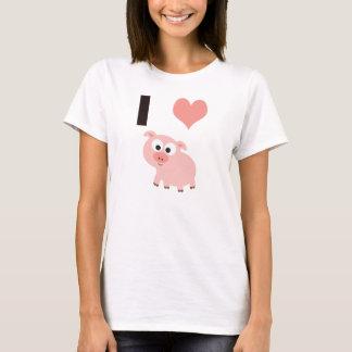 Mim porcos do coração tshirt