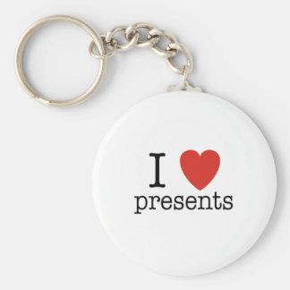 Mim presentes do coração chaveiro