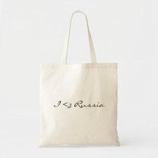 Mim saco de Rússia do coração Bolsa Tote