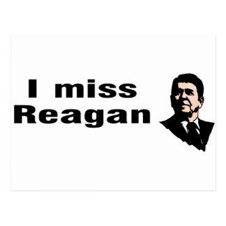 Mim senhorita Reagan Cartão Postal