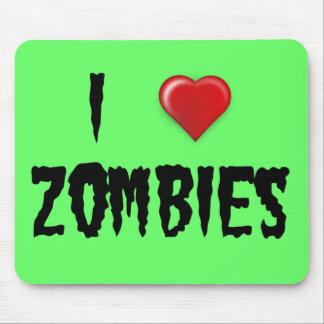 Mim zombis do coração mouse pad