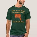Mims, veste o chapéu do Fox!?! T-shirt