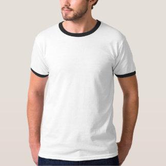 Minério da carga no navio superior do vintage do camisetas