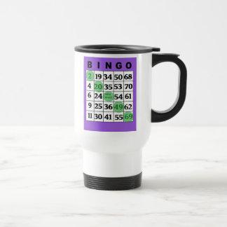 Minha caneca de café afortunada do BINGO