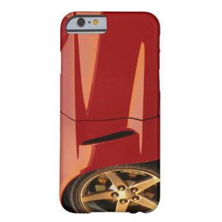 Minha Corveta vermelha Capa Barely There Para iPhone 6