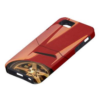 Minha Corveta vermelha Capa Tough Para iPhone 5