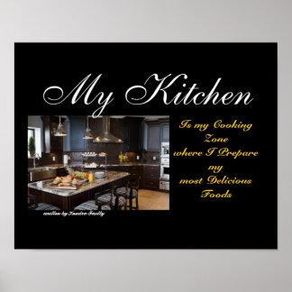Minha cozinha poster