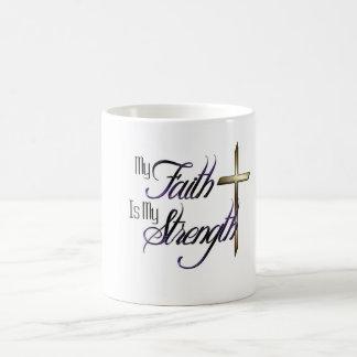 Minha fé caneca de café