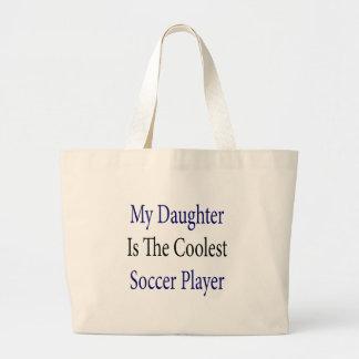 Minha filha é o jogador de futebol o mais fresco bolsa para compra