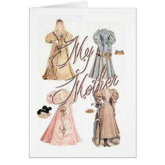 Minha mãe cartao