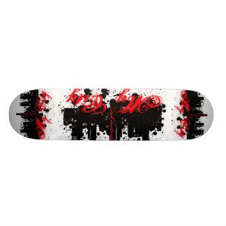 Minha plataforma da cidade shape de skate 18,7cm