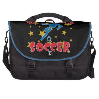 Minha superpotência é futebol mala para notebook