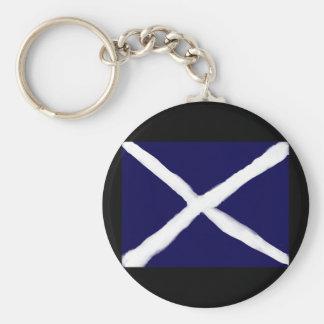 Minha tomada no chaveiro escocês da bandeira
