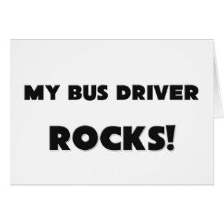 MINHAS ROCHAS do condutor de autocarro! Cartão Comemorativo