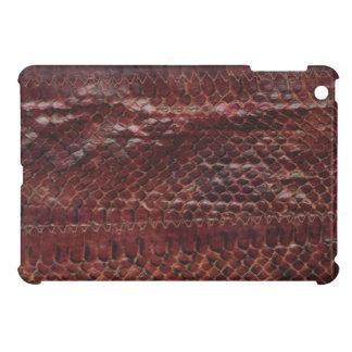Mini caso do iPad de couro do impressão do cobra iPad Mini Capas