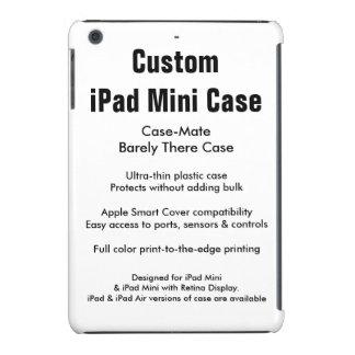 Mini caso do iPad feito sob encomenda - case mate Capa Para iPad Mini Retina