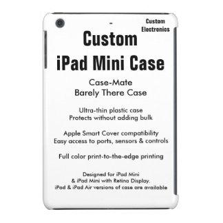 Mini caso do iPad feito sob encomenda - case mate Capas Para iPad Mini