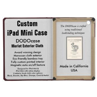 Mini caso do iPad feito sob encomenda - fólio de