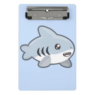 Mini Prancheta Tubarão de Kawaii