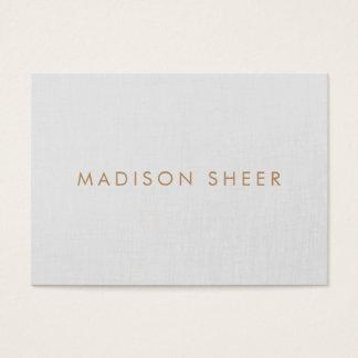 Minimalistic cinzento, moderno profissional cartão de visitas