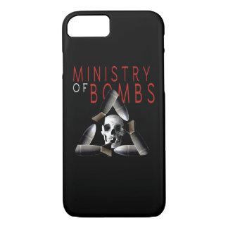 Ministério do cobrir do iphone das bombas capa iPhone 7