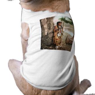 Minnehaha 1897 camisa sem mangas para cachorro
