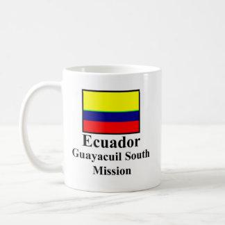Missão sul Drinkware de Equador Guayaquil Caneca De Café