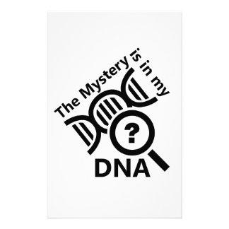 Mistério no ADN Papelaria