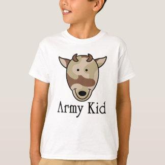 Miúdo do exército camiseta