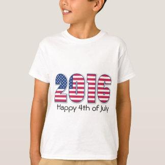 Miúdos 4ns do t-shirt de julho