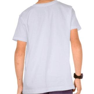 Miúdos do geek dos esportes camiseta