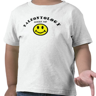 MMS: Paleontologia Camiseta