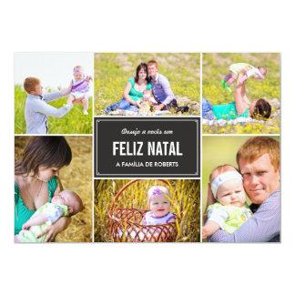 Moda a Dinamarca colagem cartões de fotos do à de Convite 12.7 X 17.78cm