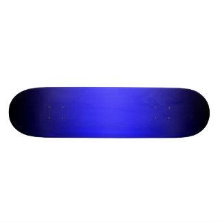 Modelo azul & preto do inclinação do skate
